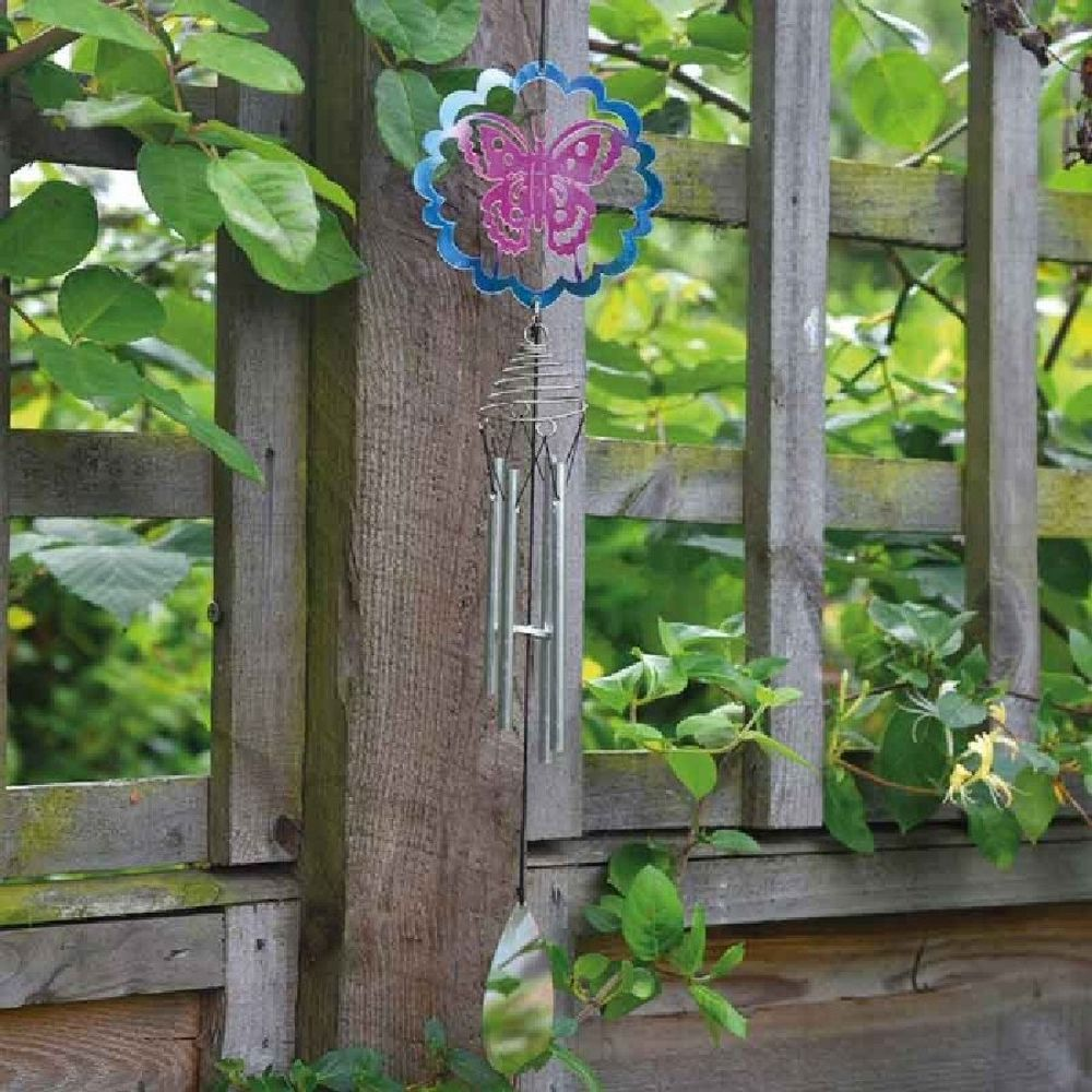 Smart Garden Butterfly Windchime