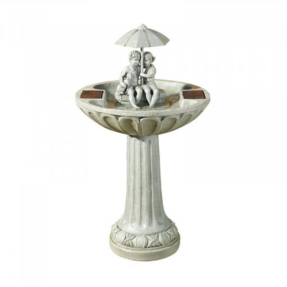 Smart Garden 82cm Solar Powered Umbrella Fountain Water Feature
