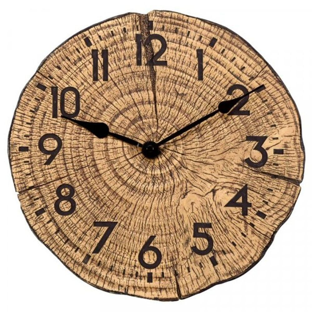 Smart Garden 12Inch Tree Time Wall Clock