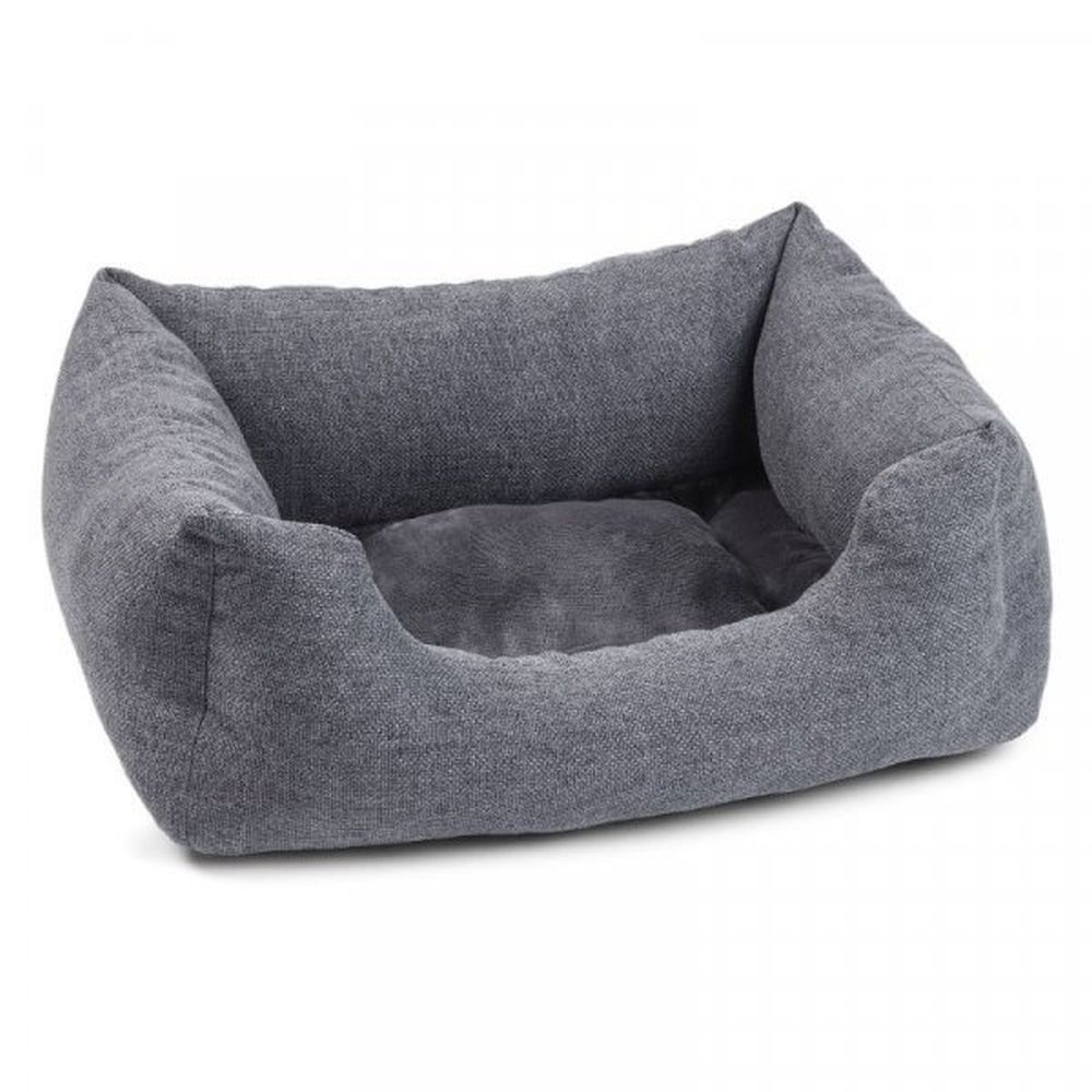 Zoon Harrogate Tweed Square Pet Bed - Small