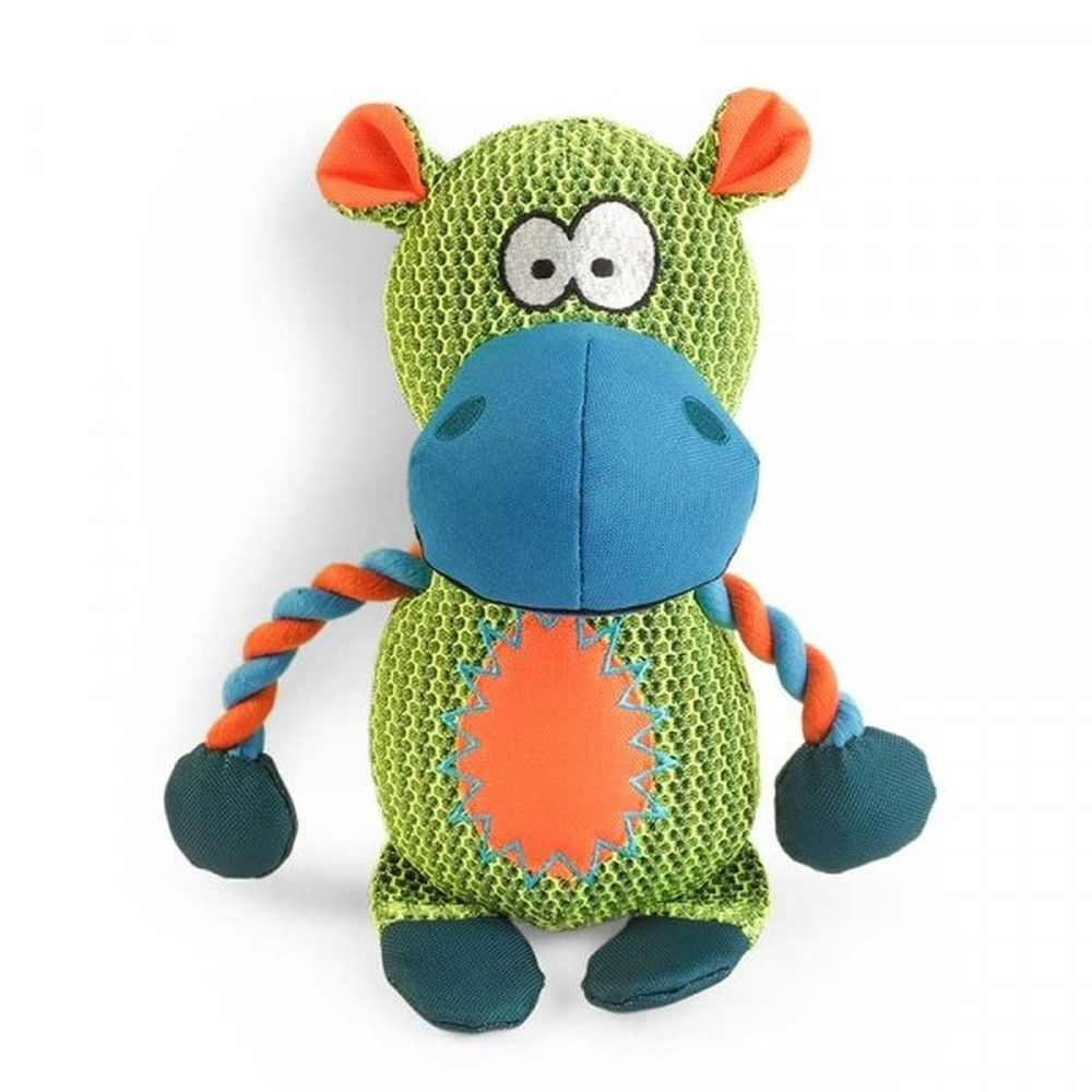 Zoon Dura Dog Toy - Hippo