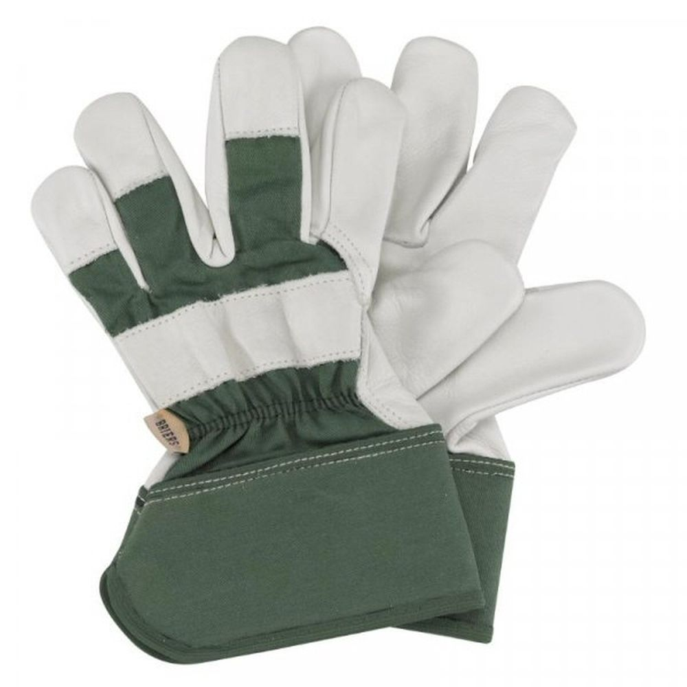 Briers Premium Rigger Gloves Green - Medium
