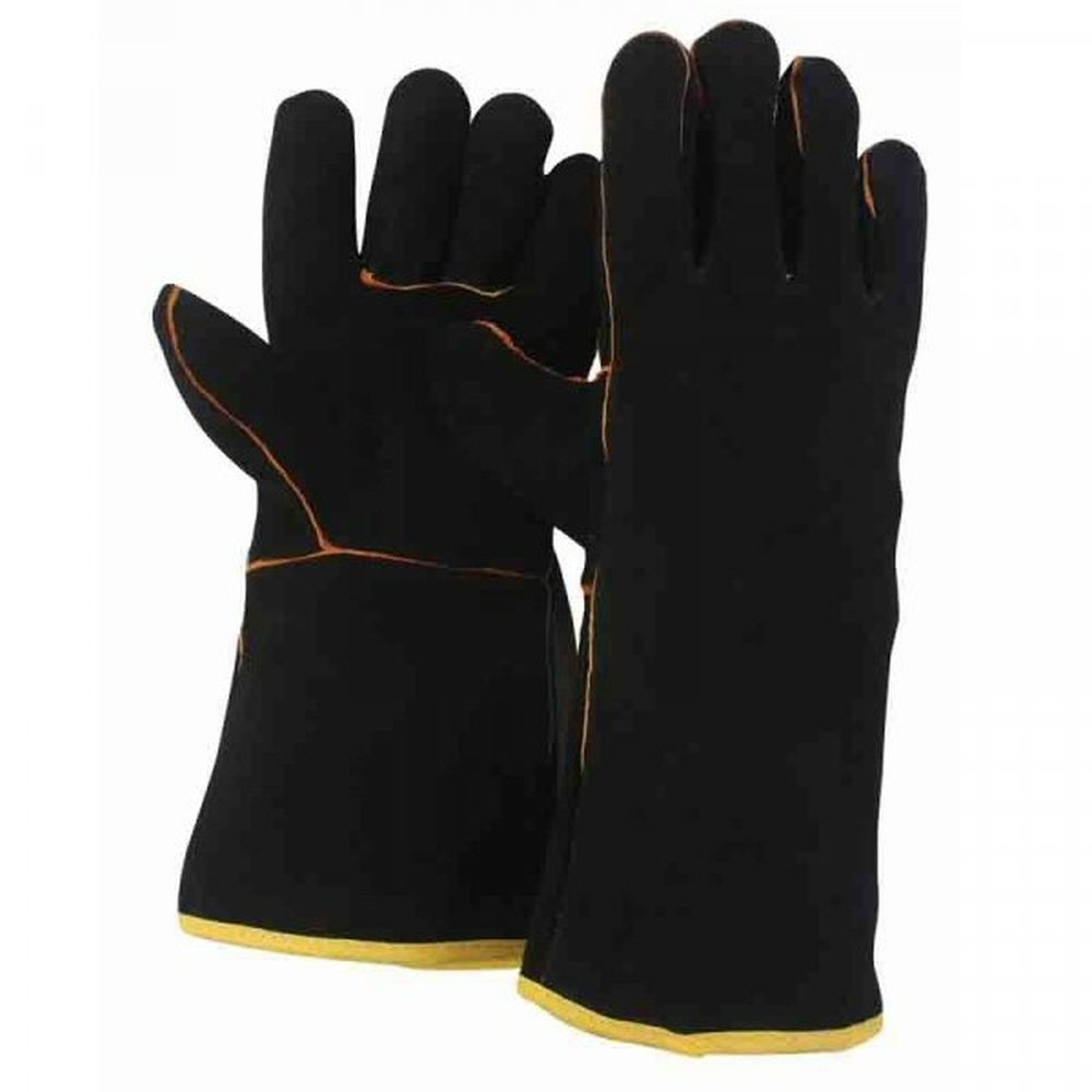 Briers Large Premium Suede Gauntlet Gloves