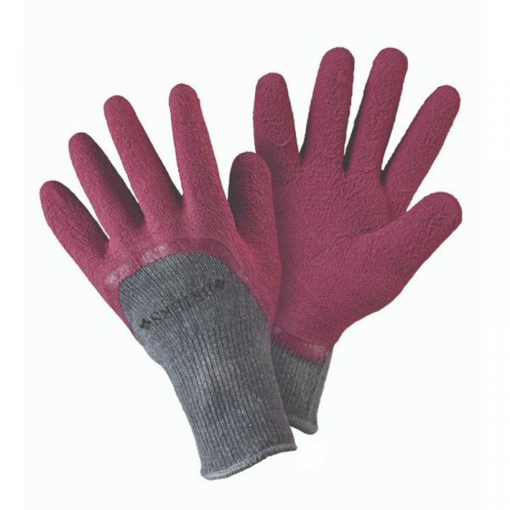 Briers Cosy Gardener Aubergine Gloves - Small