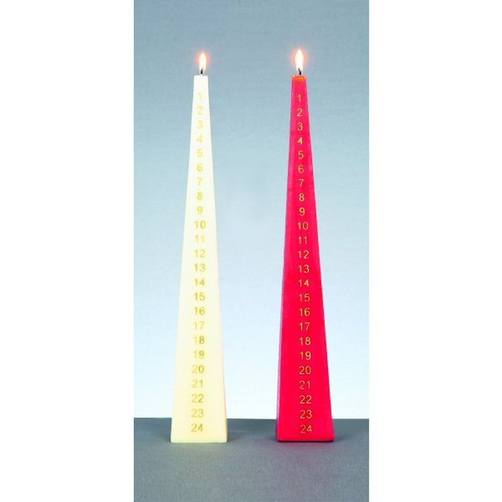 Premier 33cm Pyramid Christmas Advent Candle
