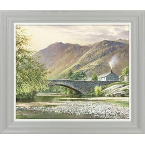 Artko 61 x 51cm 'Hillside Cottage II' Framed Print by Duncan Palmar - SE MP107