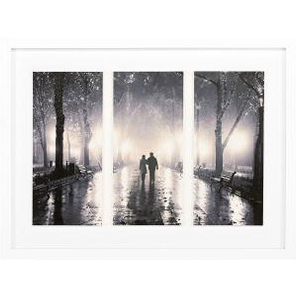 Artko 84cm 'Lovers Walk' Photo Print by Masson Photography