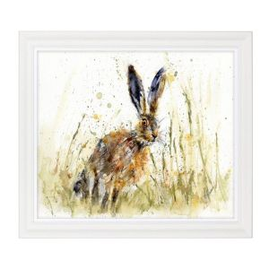 Artko 91 x 71cm 'Little Brown Hare' Framed Print by Lisa Jayne Holmes - MP109