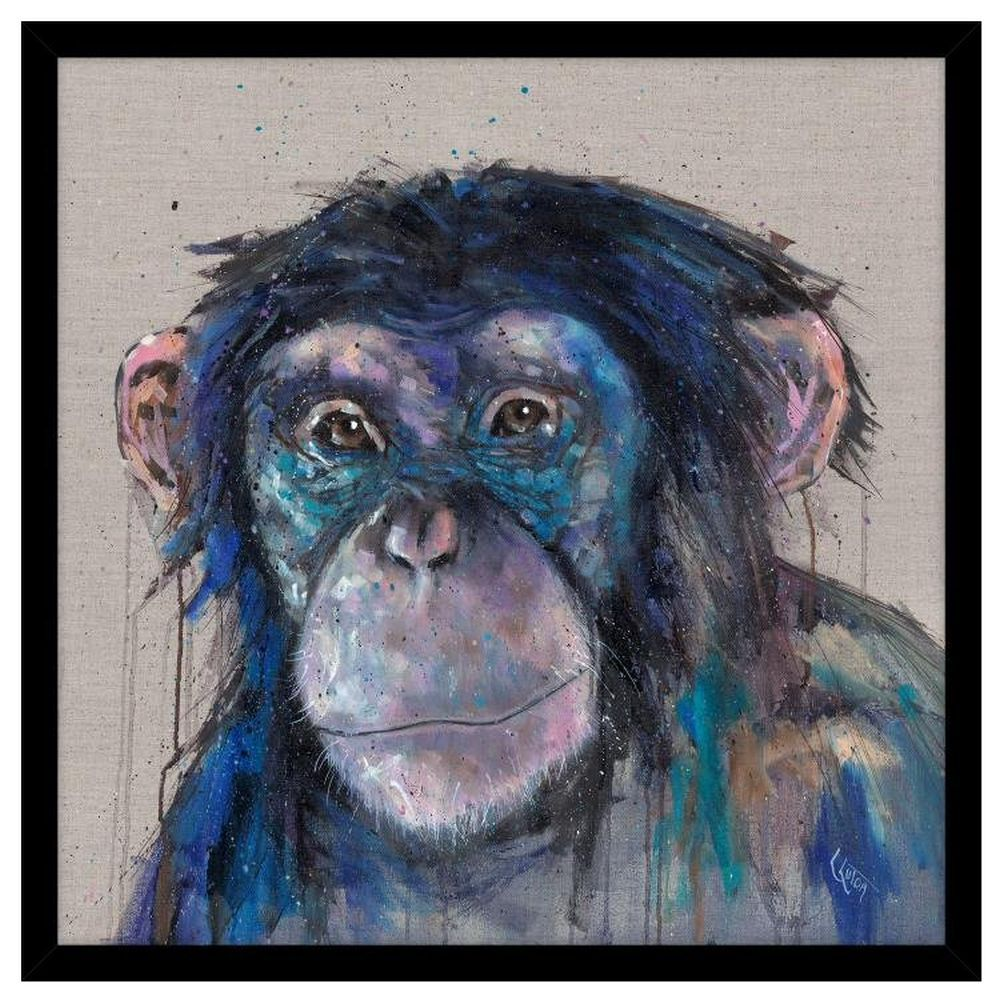 Artko 74.5cm 'Cheeky Monkey' Framed Print by Louise Luton