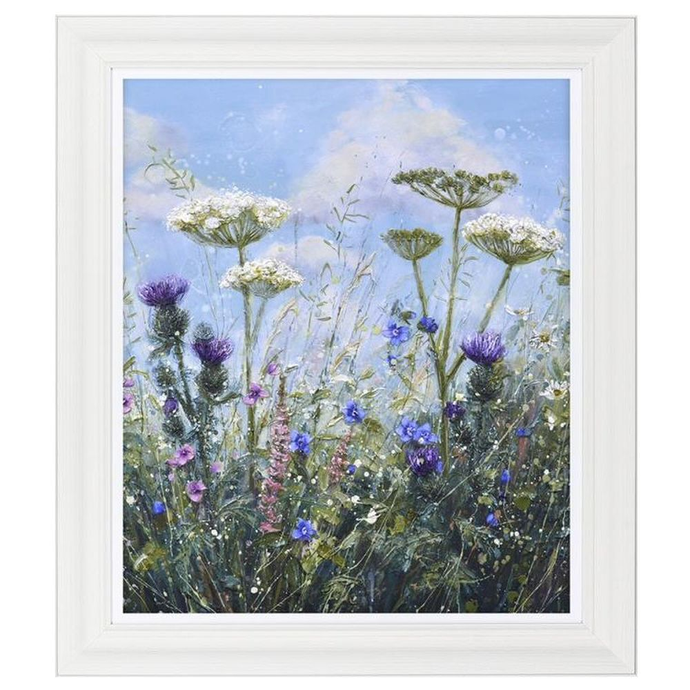 Artko 71cm 'Summer Hedgerow' Framed Print by Marie Mills