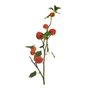 84cm Artificial Branch with Apricots