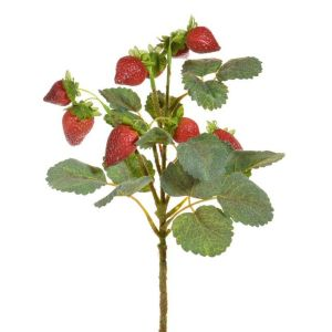 31cm Artificial Strawberry Pick