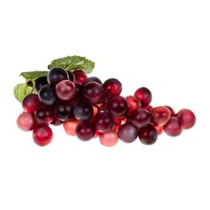 20cm Artificial Red Grapes Bunch