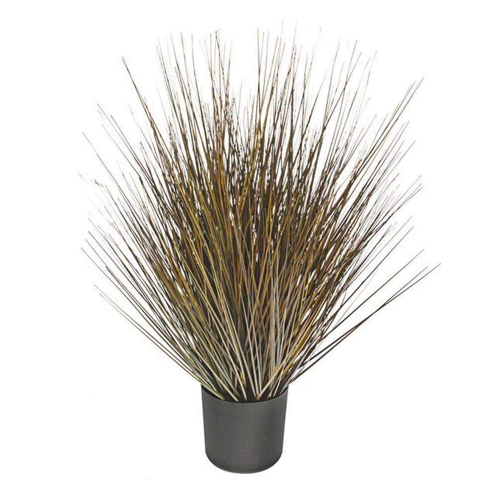 61cm Artificial Potted Harvest Grass Bush