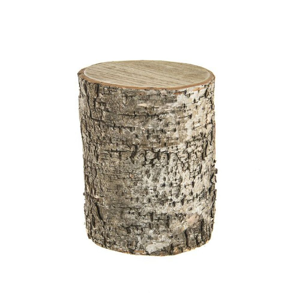 CB Imports 25cm Birch Woodland Stump