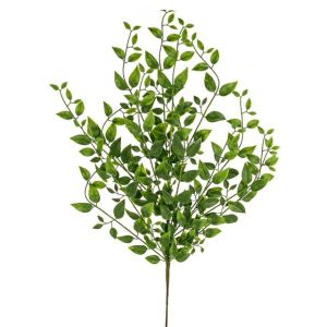 66cm Artificial Green Laurel Spray
