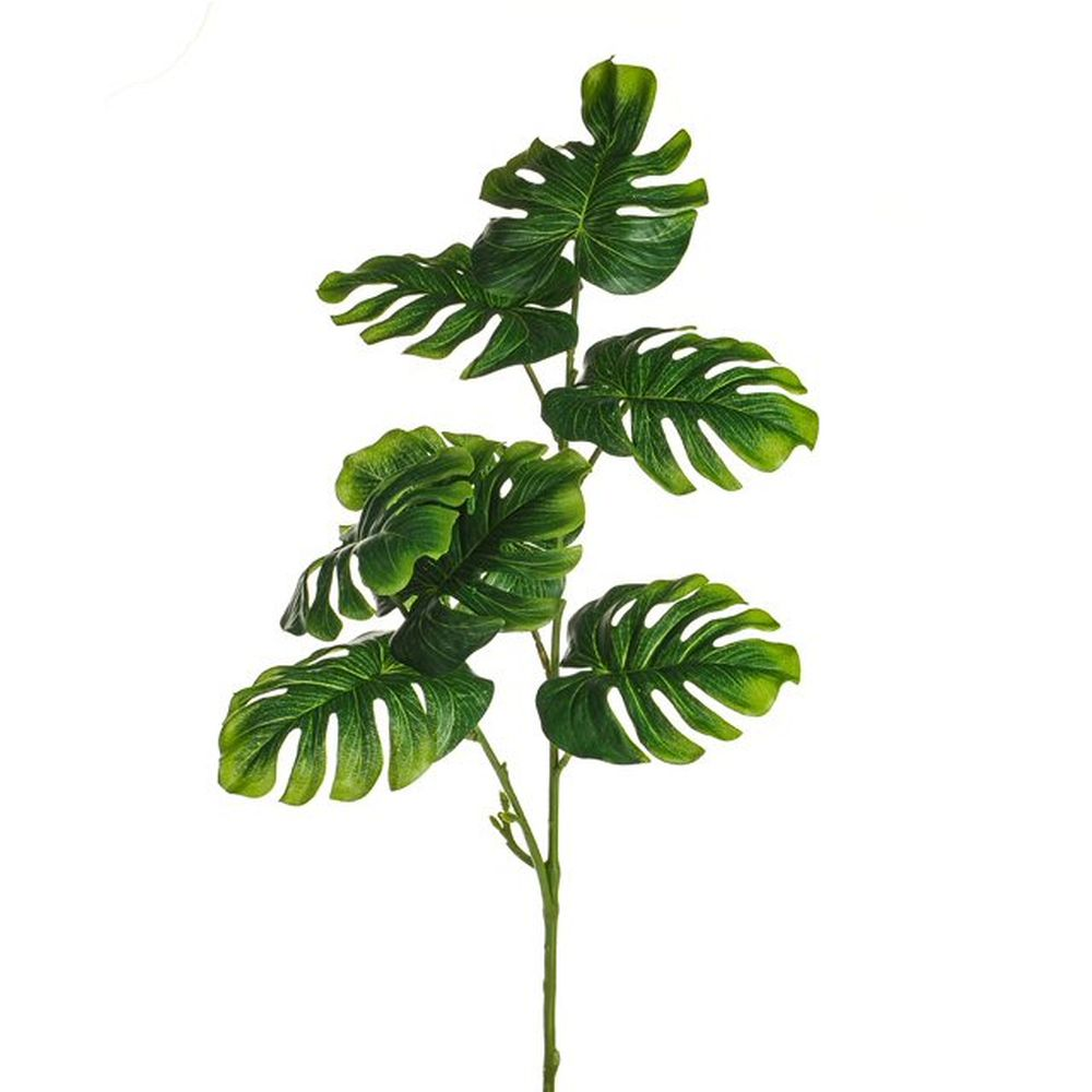 61cm Monstera Leaf Spray