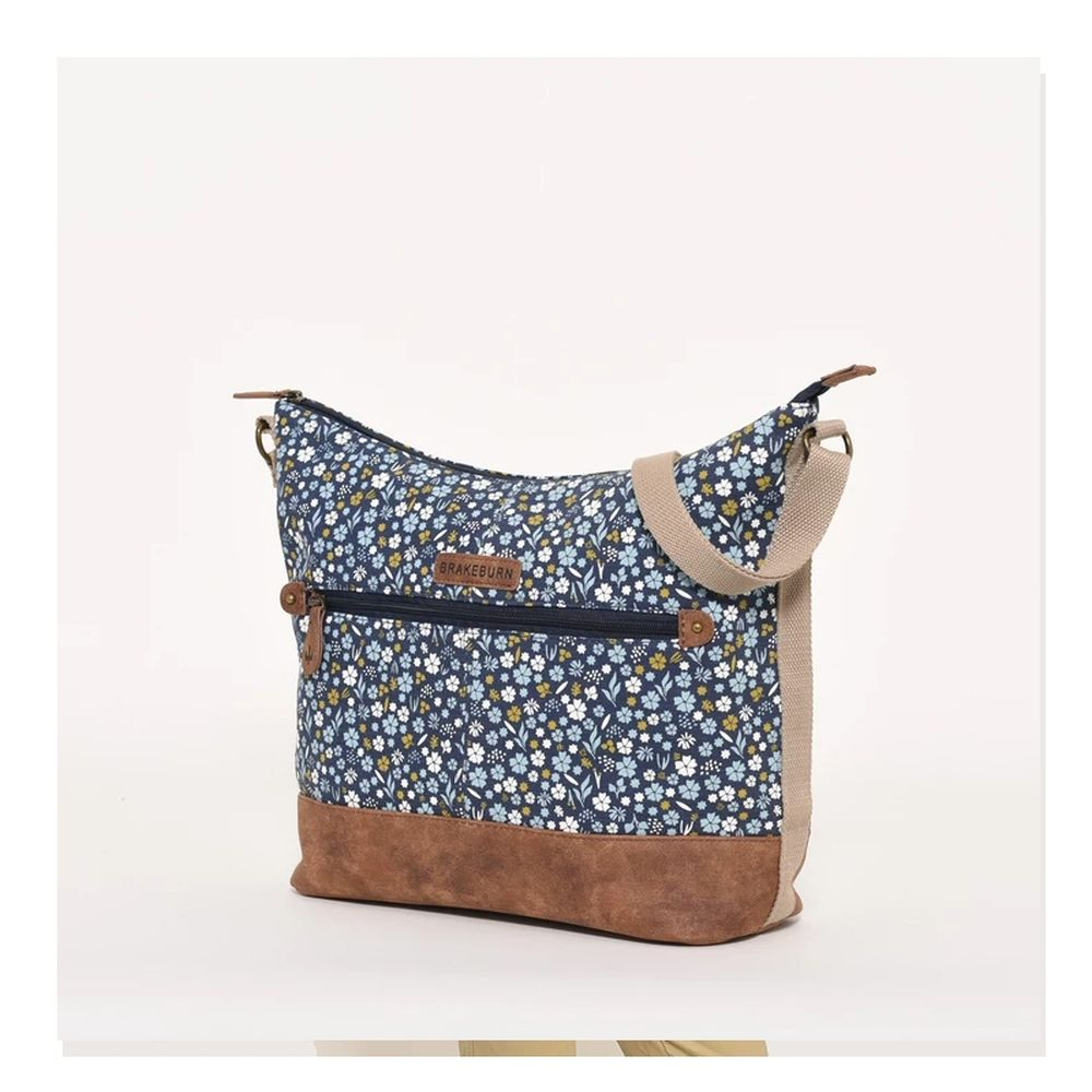 Brakeburn Navy Ditsy Hobo Bag