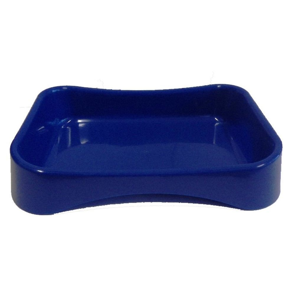 Paws 44.7cm Plastic Cat Litter Tray (Assorted Colours)