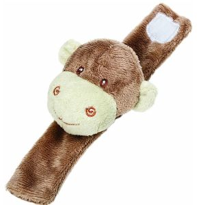 Suki Soft Toy Monkey Wrist Rattle - 10070