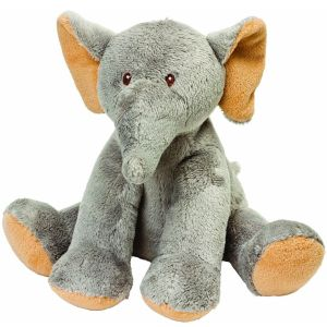 Suki Sitting Soft Elephant Toy - 10076