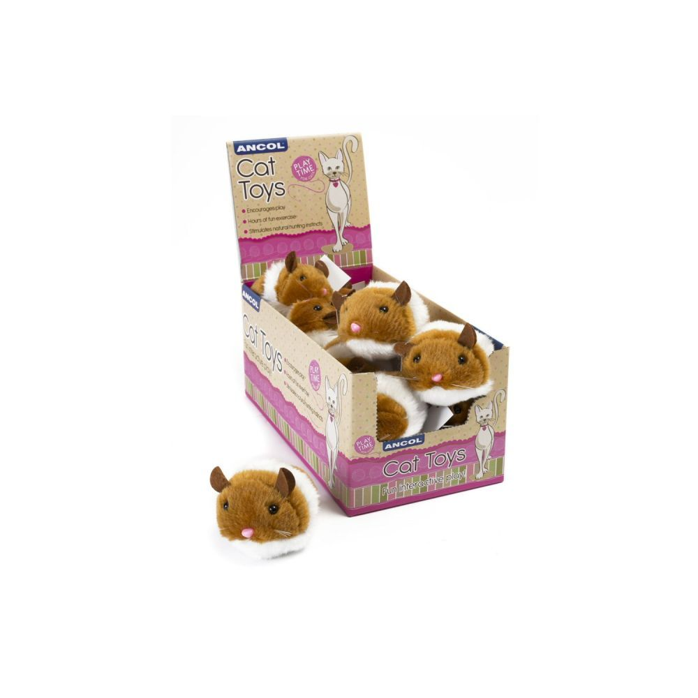 Ancol Jittery Mice Cat Toy