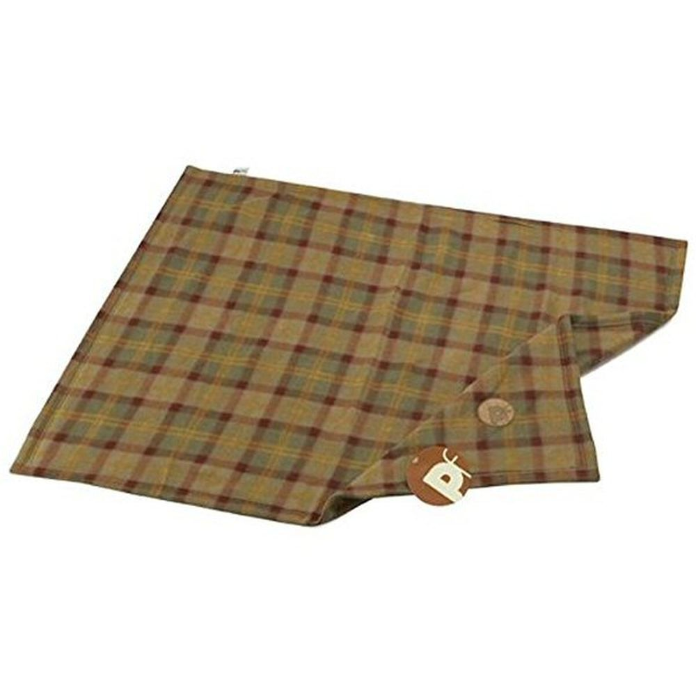 Petface Country Check Patterned Fleece Blanket