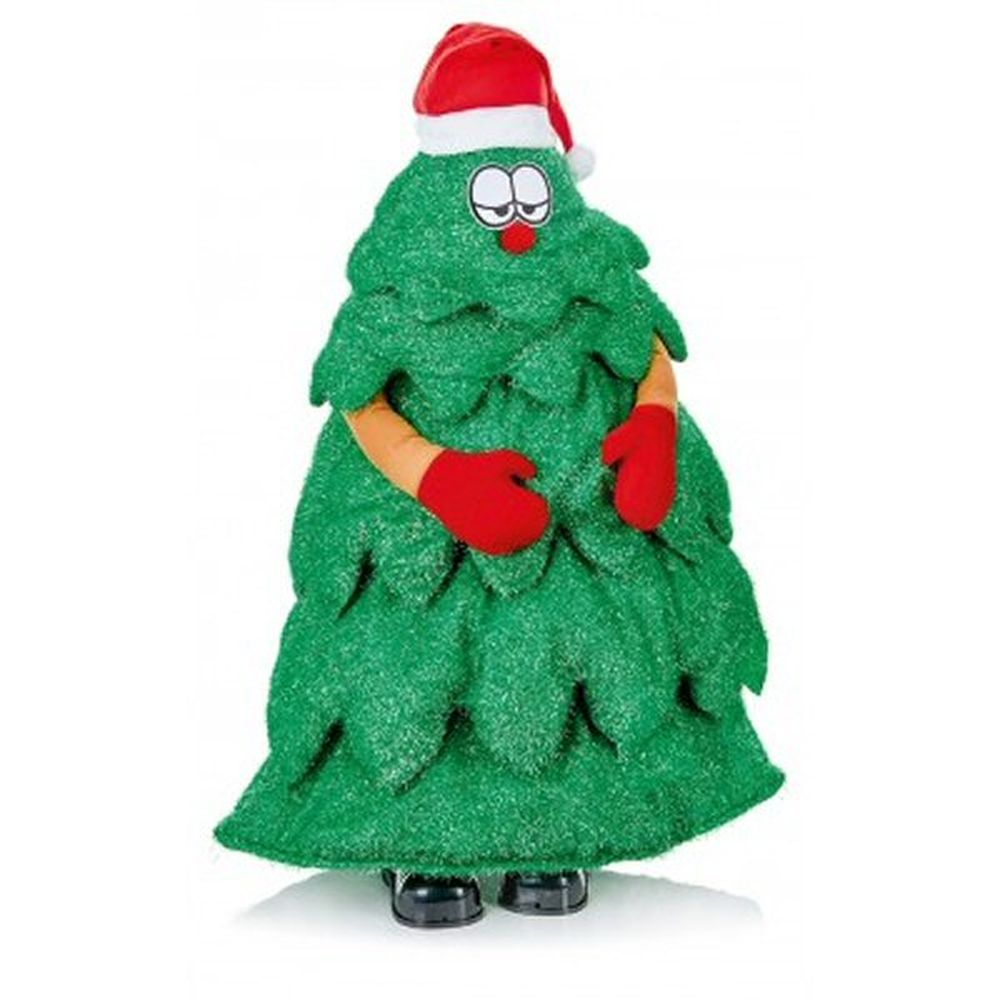 1.25m Singing Norbert Tree With Motion Sensor