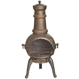 Sierra Medium Chimenea Bronze