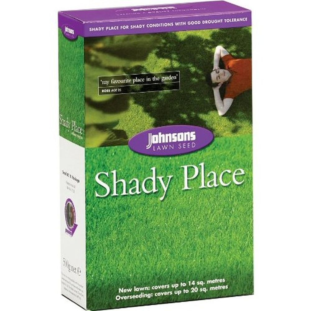 Johnsons 500g Shady Lawn Seed