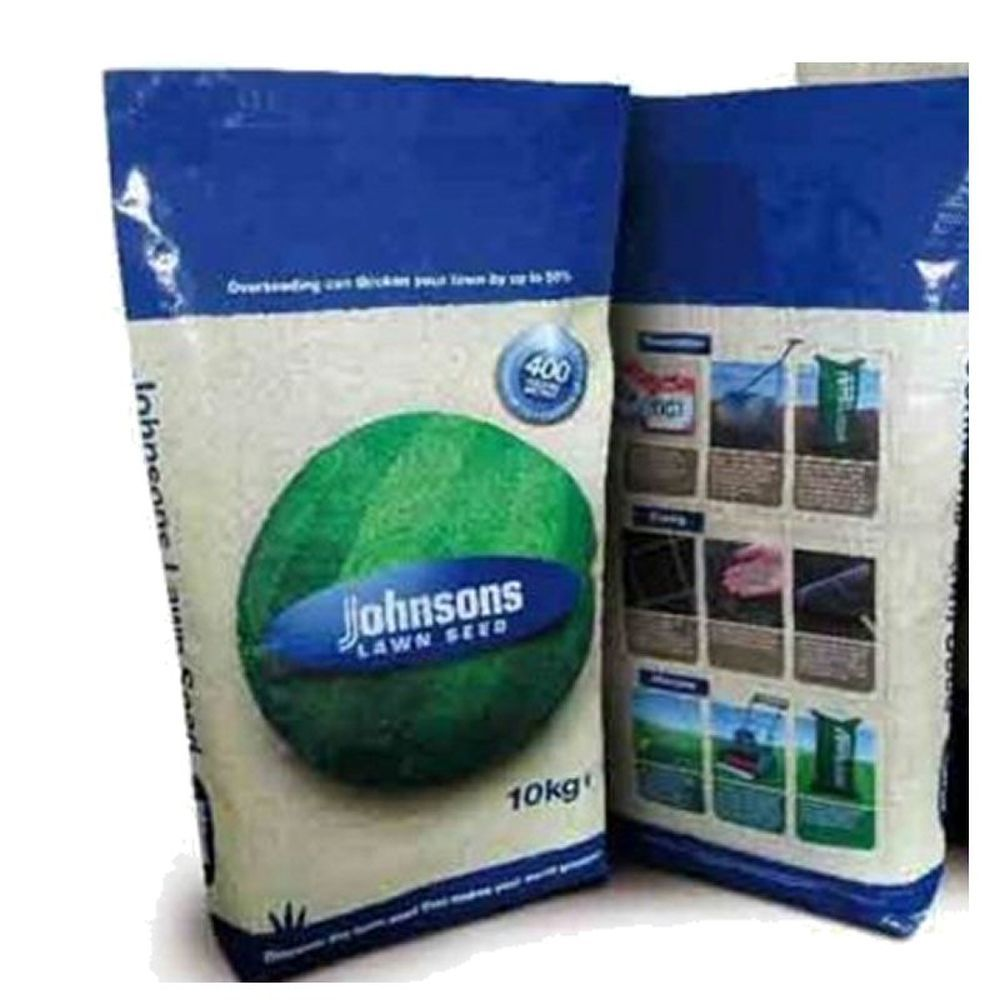 Johnsons 10kg Grass Seed Without Rye