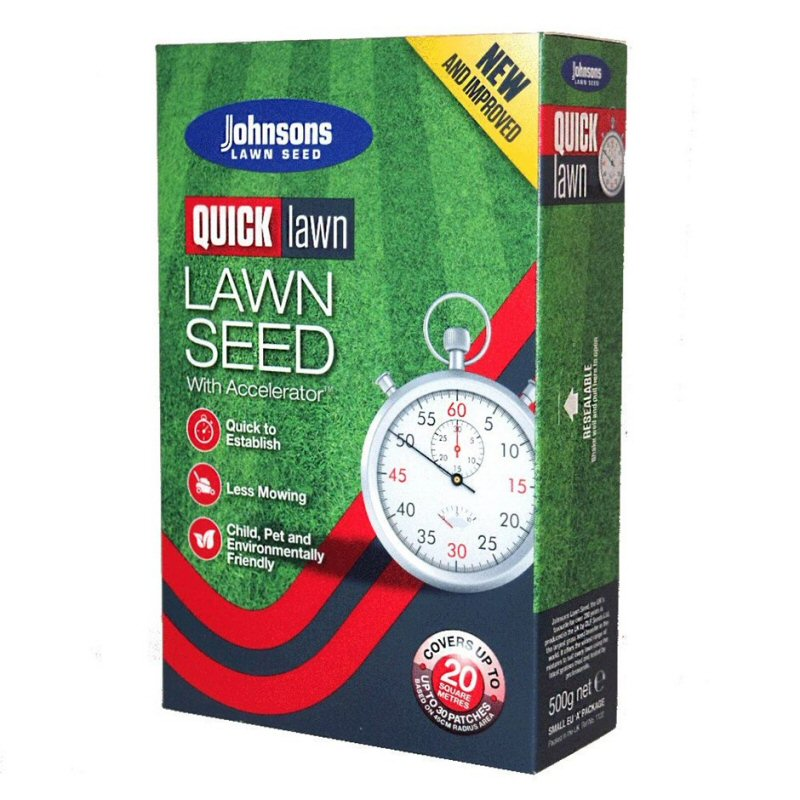 Johnsons 575g 'Quick Lawn' Lawn Seed