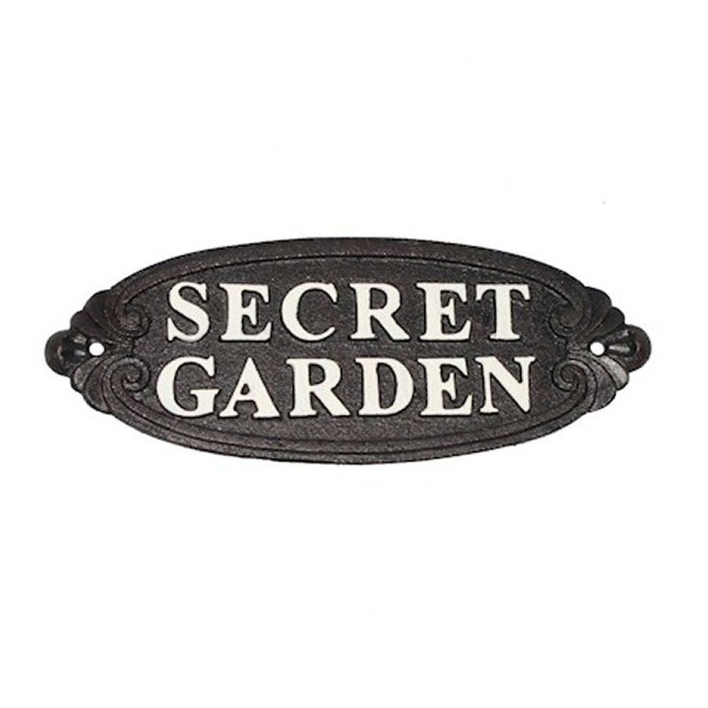 Ascalon 33cm Secret Garden Sign