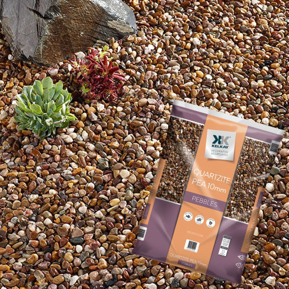 Kelkay 20mm Quartzite Pea Gravel - 1024