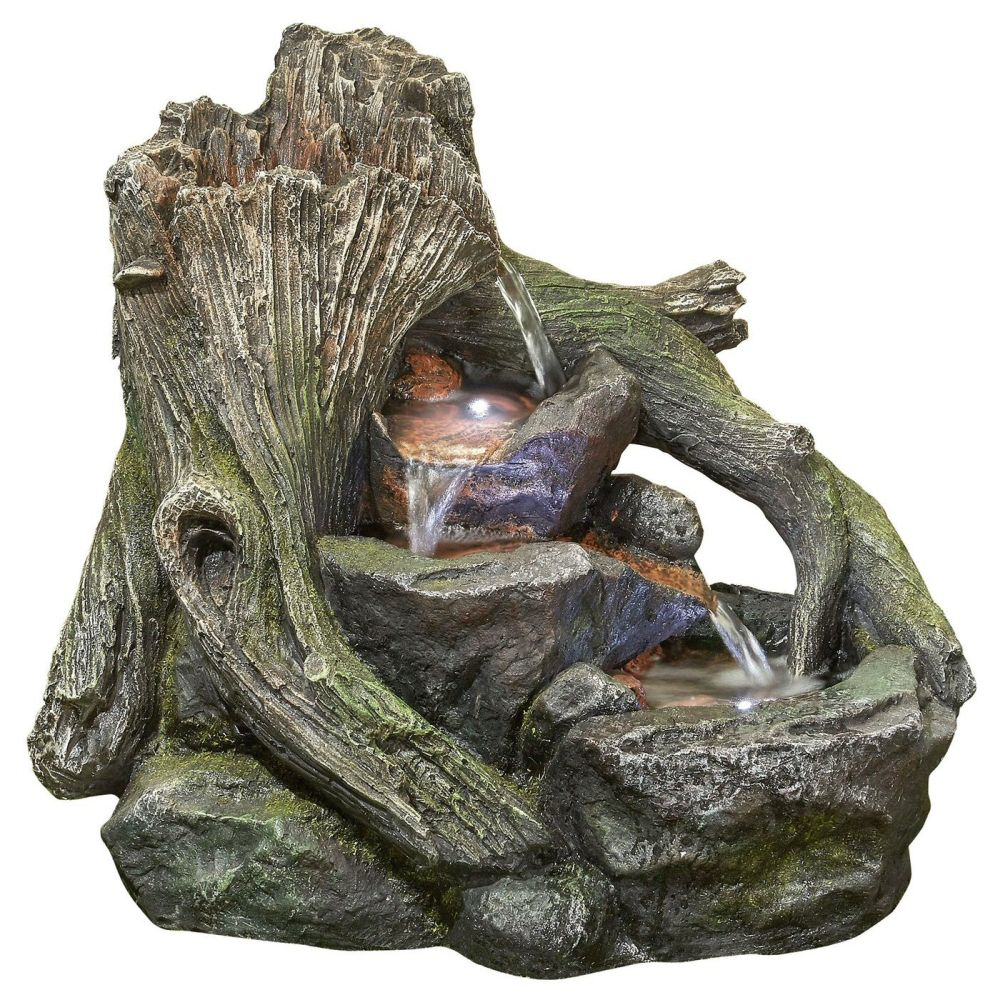 Kelkay 43cm Woodland Twist Water Feature