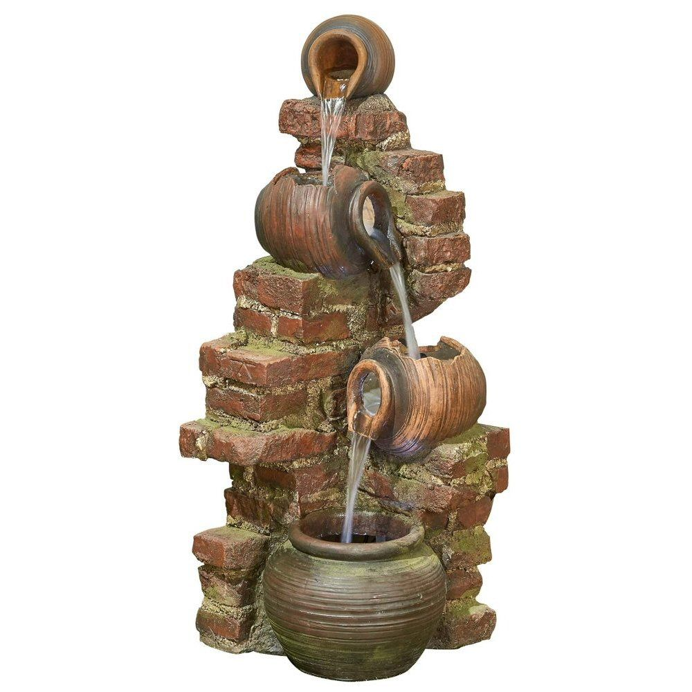 Kelkay 105cm Flowing Jugs Water Feature