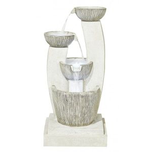 Kelkay 1.1m Santorini Water Feature with LEDs - 45184L
