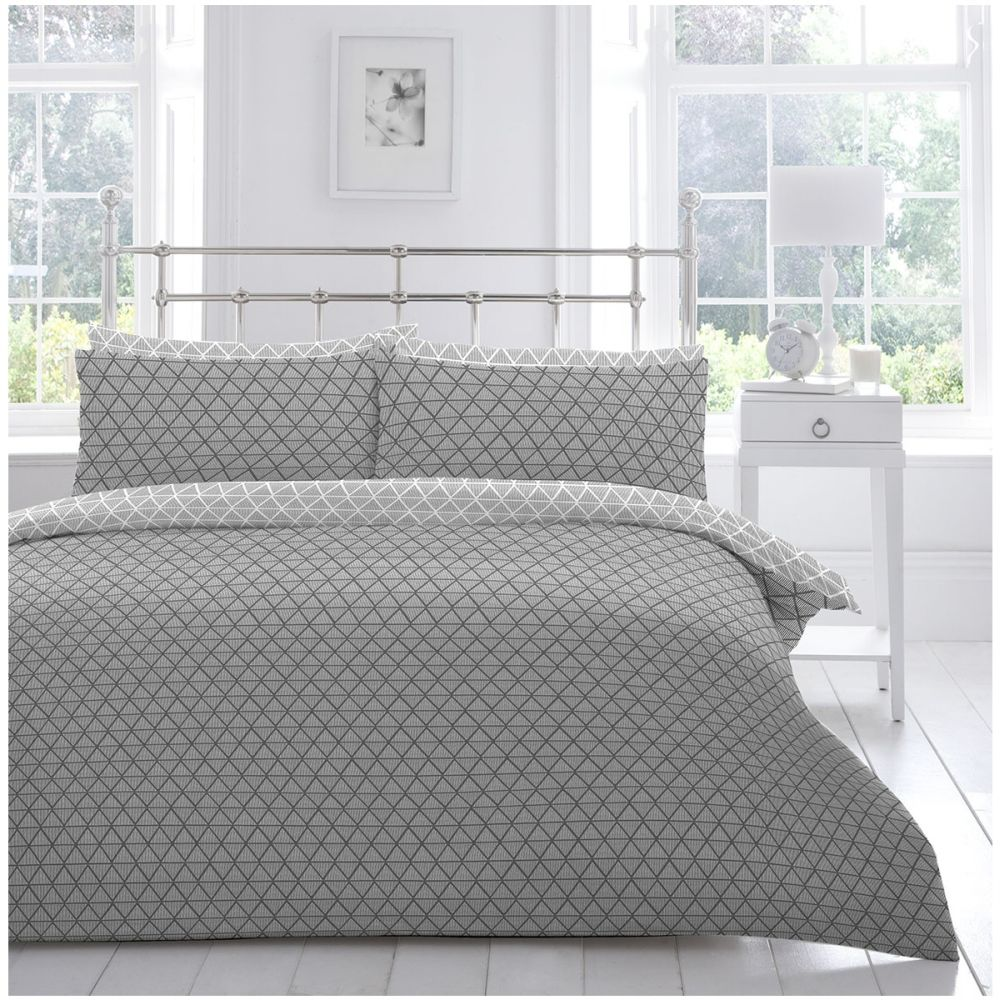 Appletree Anders Grey Super king Bedlinen Set