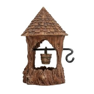 Vivid Arts Miniature World 10.5cm Woodland Wishing Well Ornament