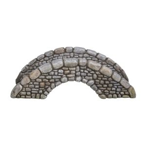 Vivid Arts Miniature World 12.4cm Cobbled Bridge Ornament