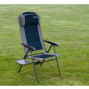 Quest Leisure Blue Elite Ragley Pro Recliner Chair with Table