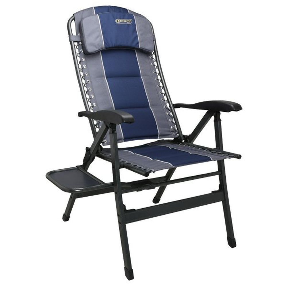 Quest Leisure Blue Elite Ragley Comfort Chair with Table
