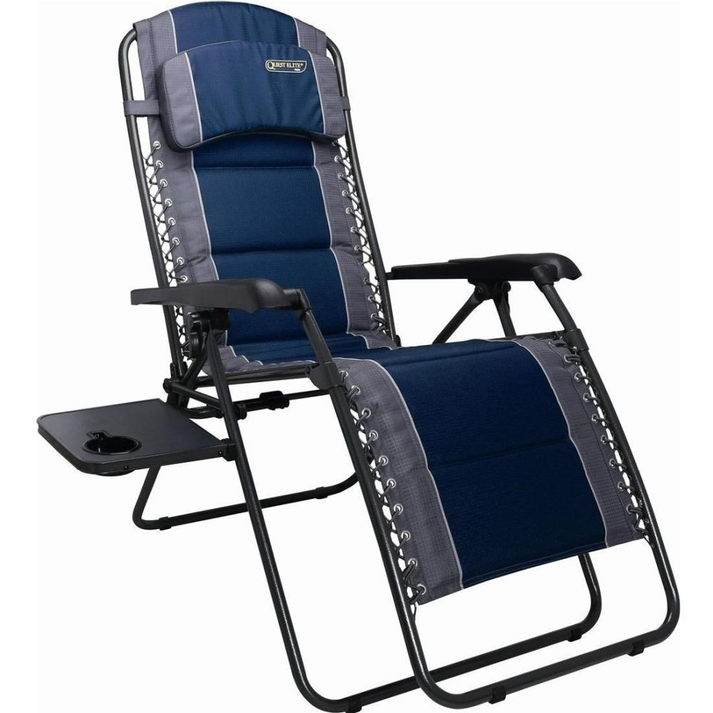 Quest Leisure Blue Elite Ragley Relaxer with Table