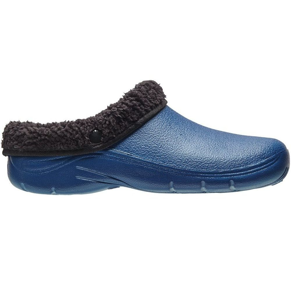 Briers Navy Thermal Clogs - Size 6