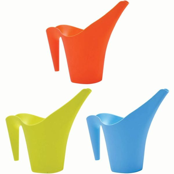 Briers Kids Watering Can Long Spout Easy Pour Stackable Garden Tool