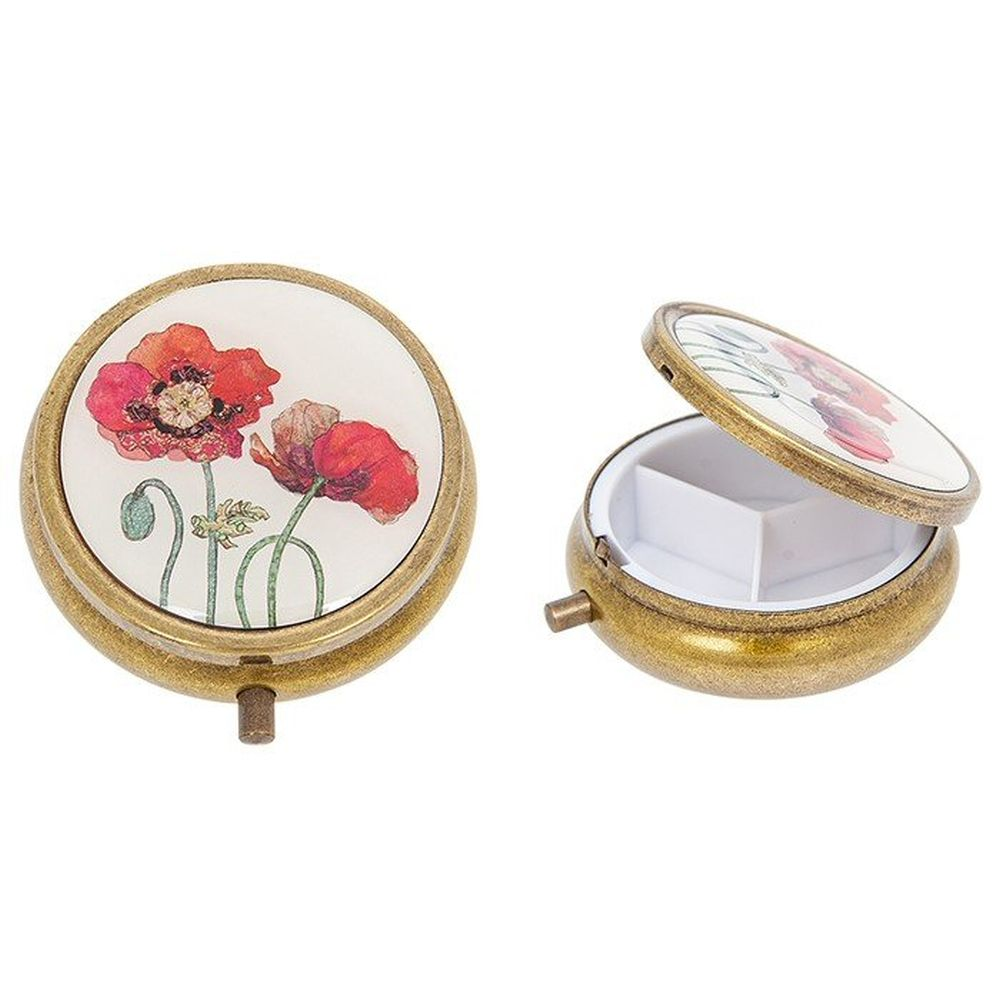 Bug Art Poppy Small Jewellery Box