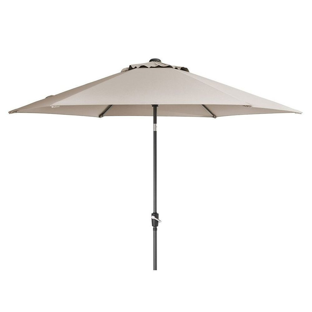 Kettler 2.5m Stone Wind-Up Parasol