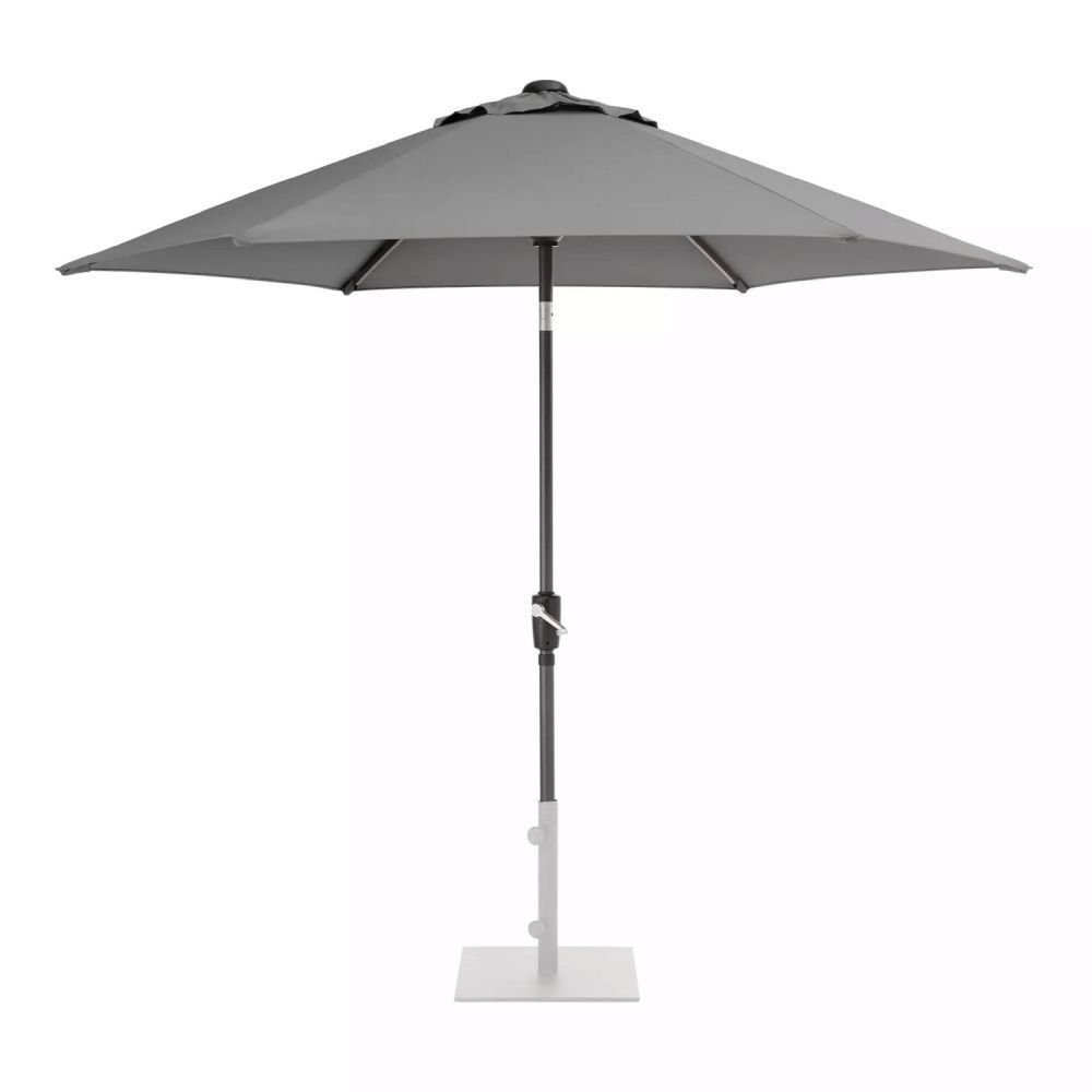 Kettler 2.5m Slate Wind-Up Parasol
