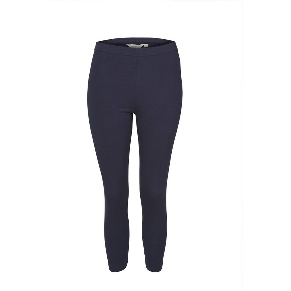 Lily & Me Navy 3/4 Length Crop Leggings - Size 20