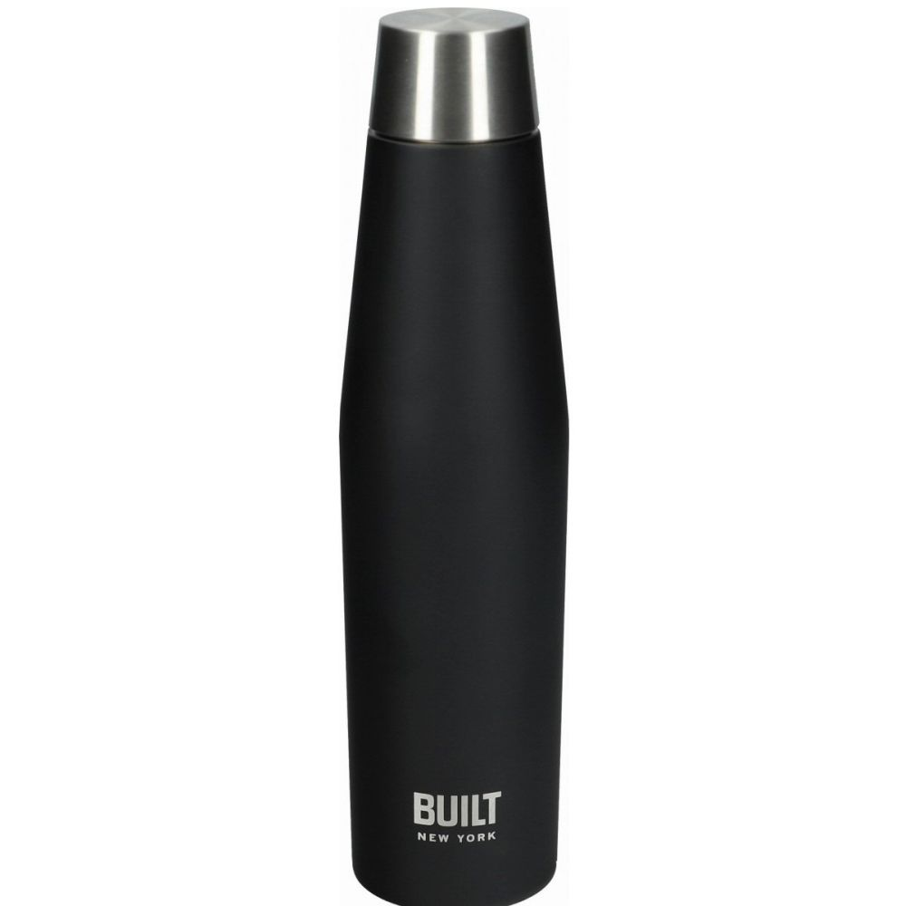 Kitchen Craft Built Perfect Seal 540ml Black Hydration Bottle
